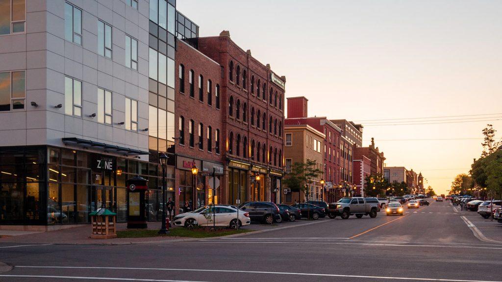 Downtown Charlottetown Street